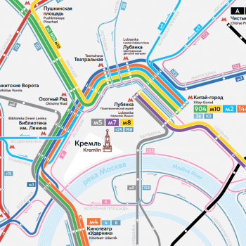 A new bus network for Moscow